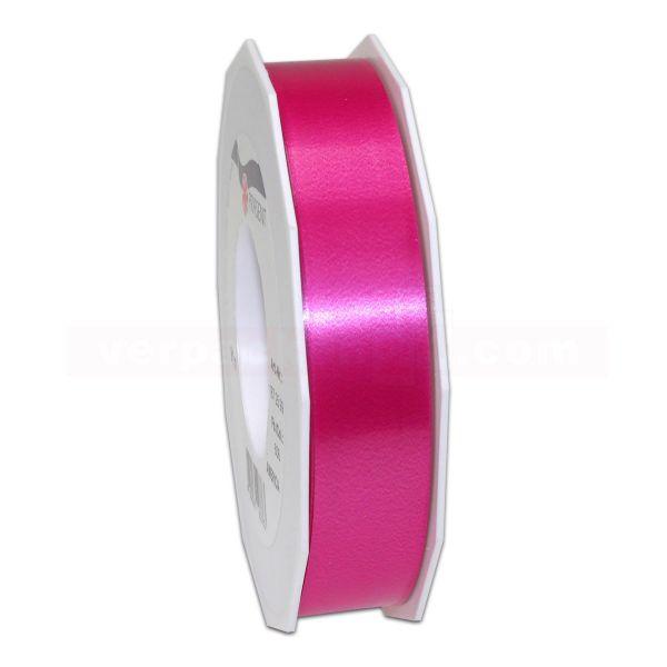 Glanzband auf Rolle 091 mtr., 25 mm - pink (606)