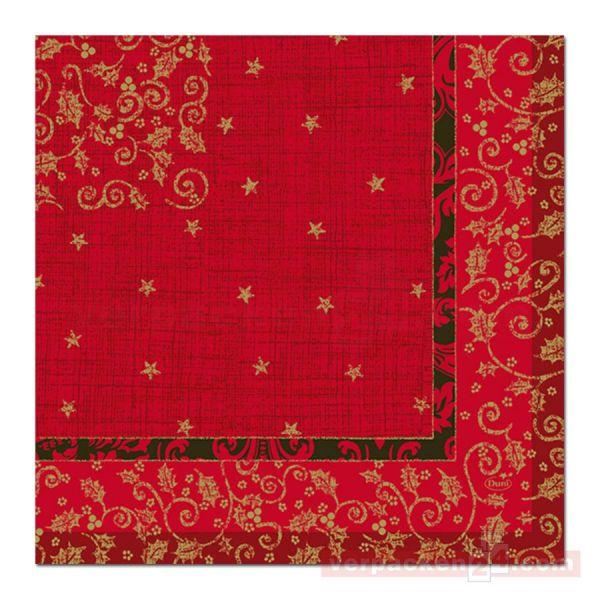 DUNI Klassik-Servietten Xmas, 40x40cm - 1/4 Falz Christmas Dream