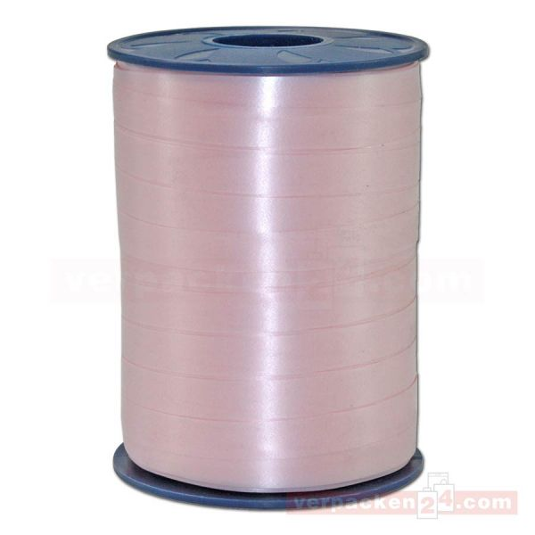 Glanzband auf Rolle 250 mtr., 9 mm - rose (120)