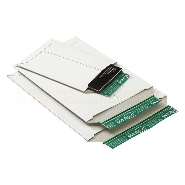 Versandtaschen, weiße Vollpappe stabil - SKL