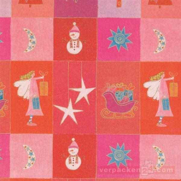 Weihnachts Geschenkpapier W 49977, Rolle 50 cm