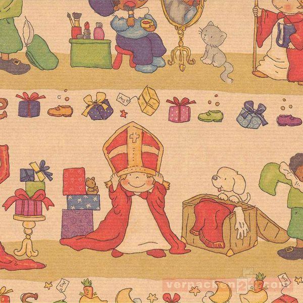 Weihnachts Geschenkpapier K 023, Rolle 50 cm