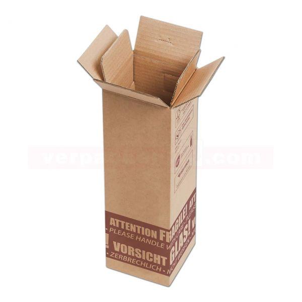 Flaschenversandkarton, 1 Flasche - Versandverpackung PTZ