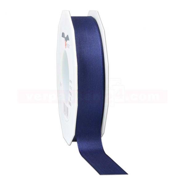 Seidenband - Europa - Rolle 50 m, 25 mm - dunkelblau (624)