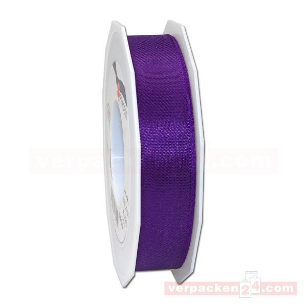 Seidenband - Europa - Rolle 50 m, 25 mm - violett (610)
