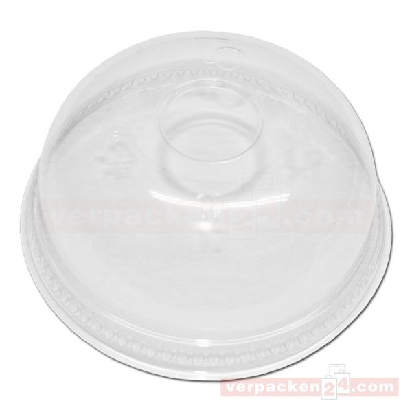 Clear Cup Domdeckel gewölbt PET, klar