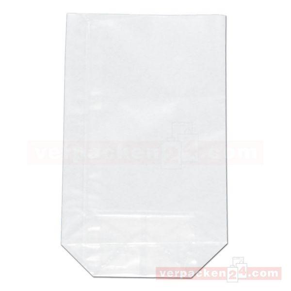 Bodenbeutel Polypropylen (PP) - transparent - unbedruckt