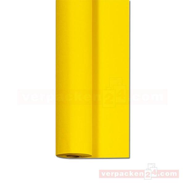 DUNI Dunicel-Tischtuch, Rolle 25 m - 125 cm - gelb