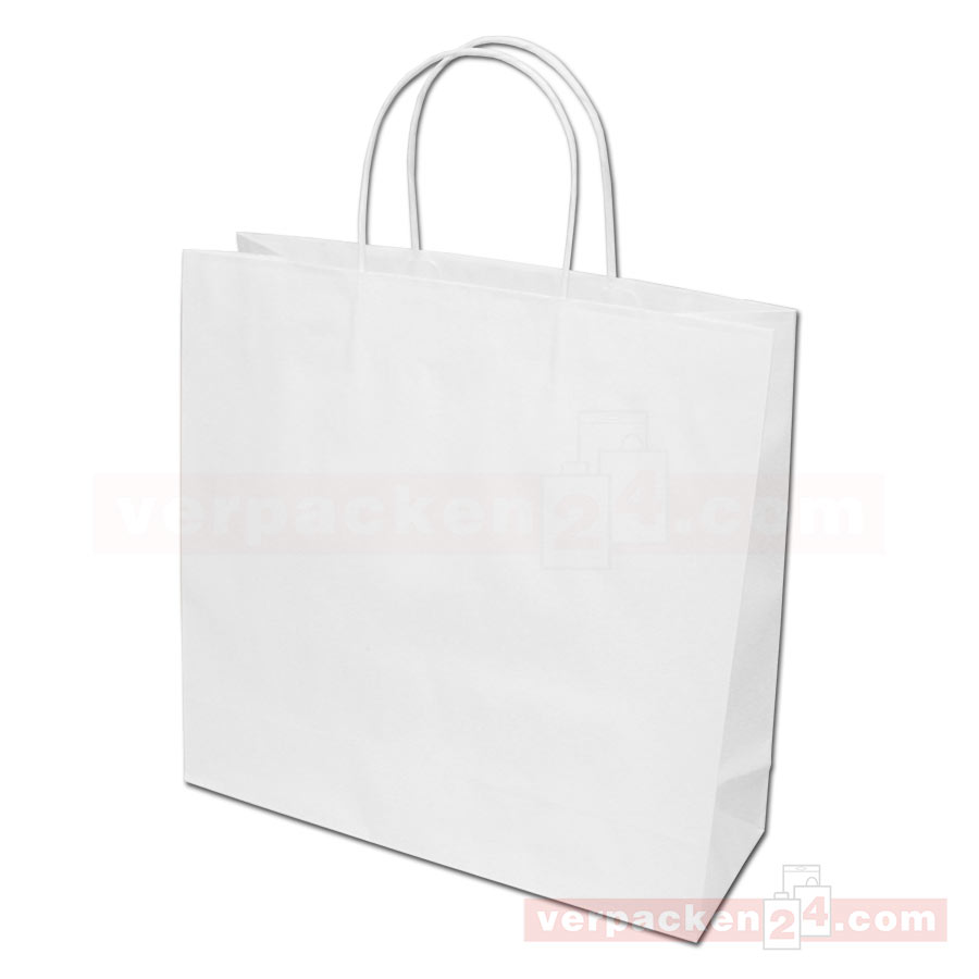 papiertaschen papierkordel braun wei online shop. Black Bedroom Furniture Sets. Home Design Ideas