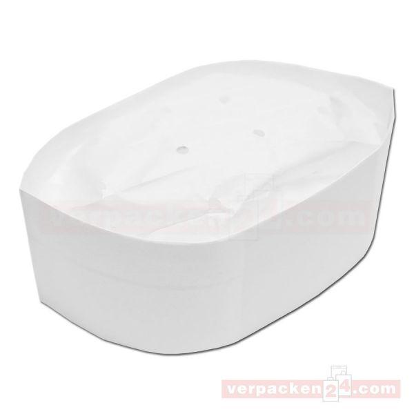 Einweg-Schiffchen weiß - Papier