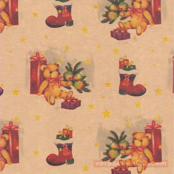 Weihnachts Geschenkpapier E 2365, Rolle 50 cm