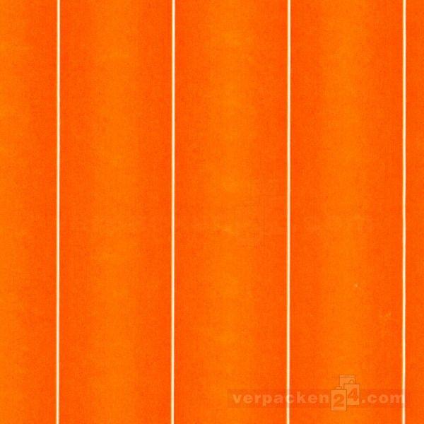 Blumenseiden, weiß Recycling - Colour orange - Rolle - 75 cm