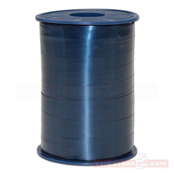 Glanzband auf Rolle 250 mtr., 9 mm - dunkelblau (624)