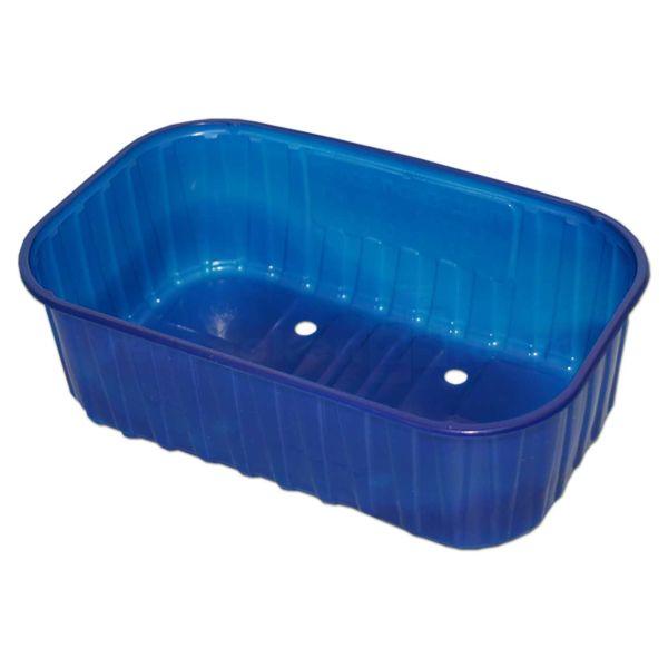 Beerenschale, Kunststoff PET blau - 500 g