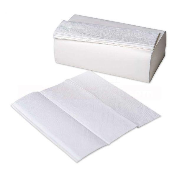 Handtuchpapier e2 - 2-lagig, Z-Falz - Falthandtuch - 22x23cm