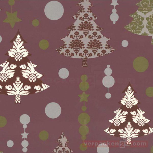 Weihnachts Geschenkpapier St 19824, Rolle 50 cm