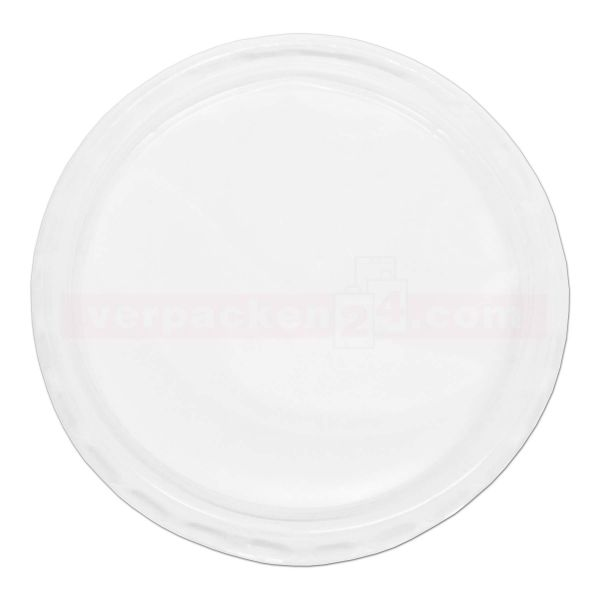 Dressingbecher KR rund - Deckel - klar APET - Ø 70,3mm