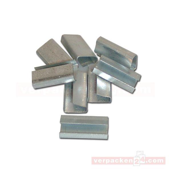 Metallklammern für Spanngerät - 13 mm