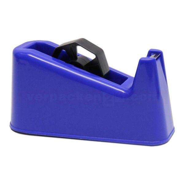 Tischabroller für Klebefilm, Kunststoff blau - bis 66/25 mm
