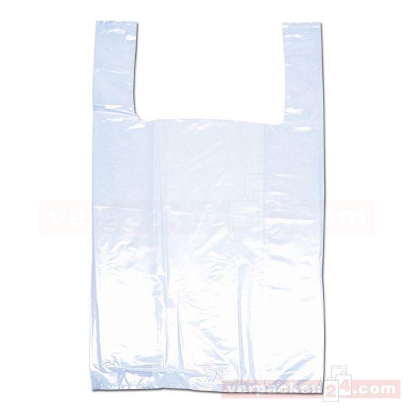 LDPE-Hemdchentaschen, transparente Folie