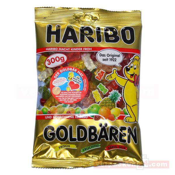 01 - HARIBO Goldbären - aus Fruchtgummi - 360 g