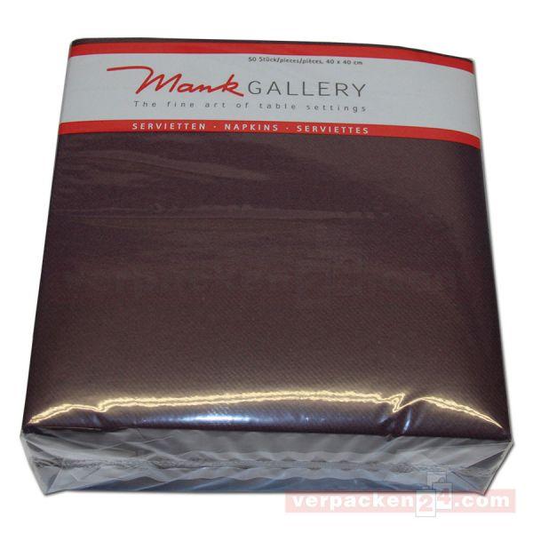 Servietten aus Airlaid farbig, 40x40 cm - 1/4 Falz - pflaume