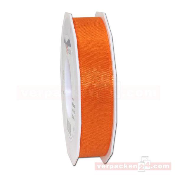Seidenband - Europa - Rolle 50 m, 25 mm - orange (620)