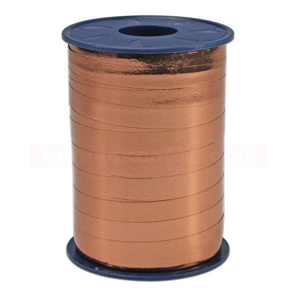 Glanzband metallisiert - 10 mm - Rolle 250 m - kupfer (623)