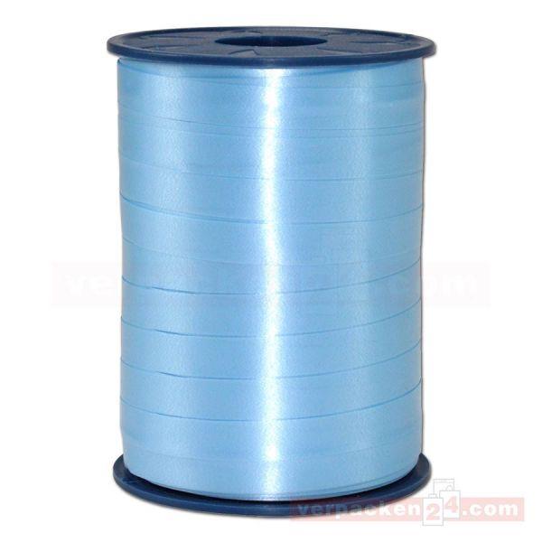 Glanzband auf Rolle 250 mtr., 9 mm - zartblau (602)
