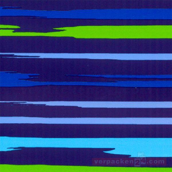 Geschenkpapier, neutral St 36601, Rolle 50 cm - Streifen dunkel
