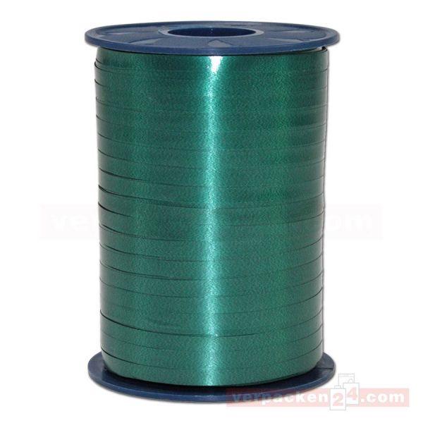 Glanzband auf Rolle 500 mtr., 5 mm - grün (035)