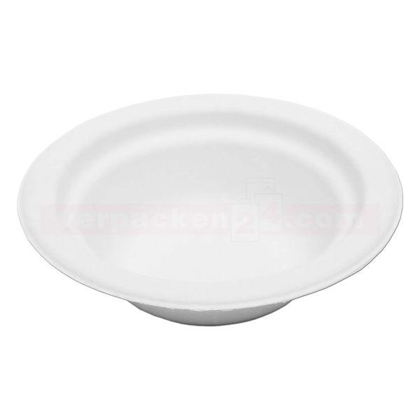 Chinet weiß, Holzschliff, Suppenschale, rund 12 oz - 300 ml