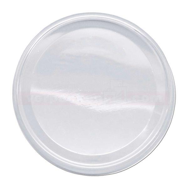 Ananasbecher - Deckel - transparent, rund