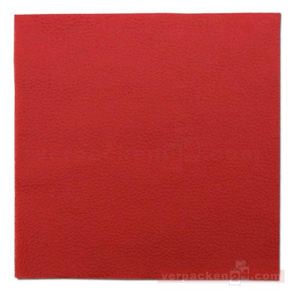 DUNI Zelltuch-Servietten, 1-lg, 1/4 Falz, 33x33cm - rot