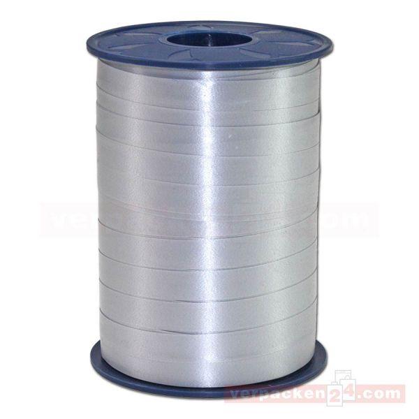 Glanzband auf Rolle 250 mtr., 9 mm - silber (631)