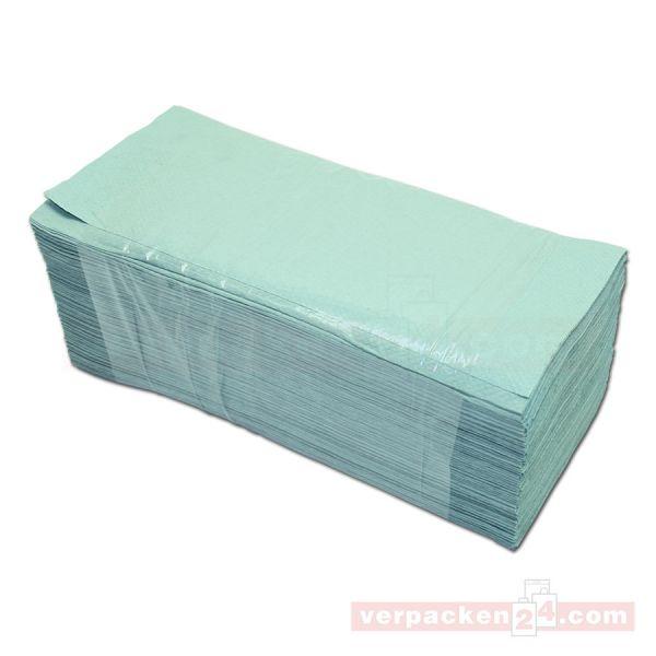 Handtuchpapier, Blattware, grün - 23 x 25 cm