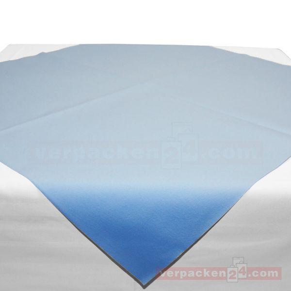 Tischdecken Mank, Airlaid Basics - hellblau - Bogen 80x80 cm