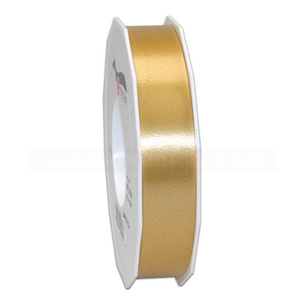 Glanzband auf Rolle 091 mtr., 25 mm - gold (634)