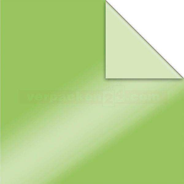 Geschenkpapier, neutral St 916086, Roll 50 cm - grün/hellgrün