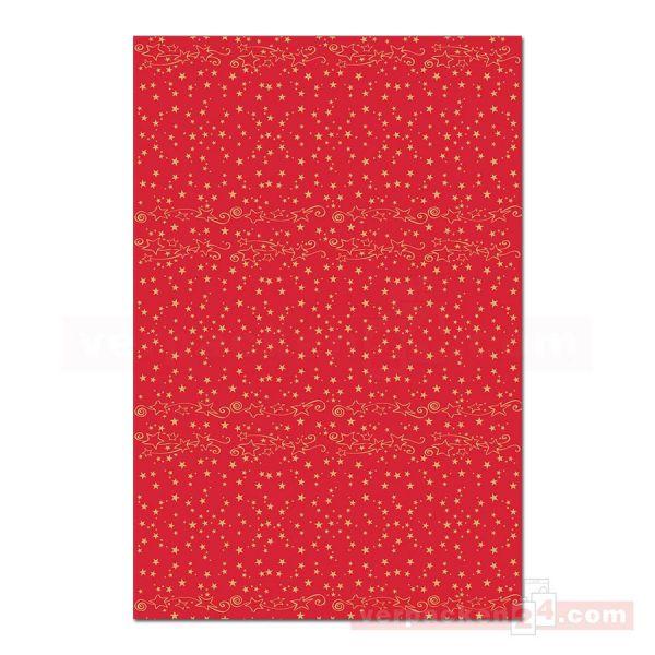 Tischdeckenrollen Mank Xmas, Airlaid - Rolle - Glitter rot