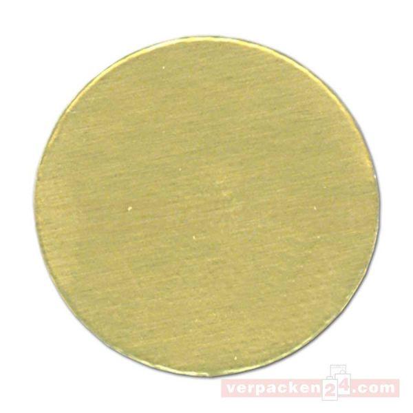 SKL-Etiketten, rund gold - klein - 20 mm