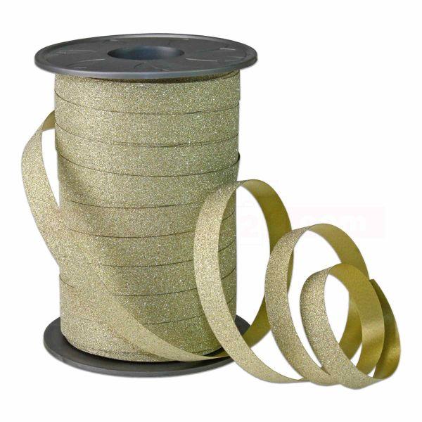 Ringelband Poly Glitter - Weihnachten - Glitzereffekt, 10 mm