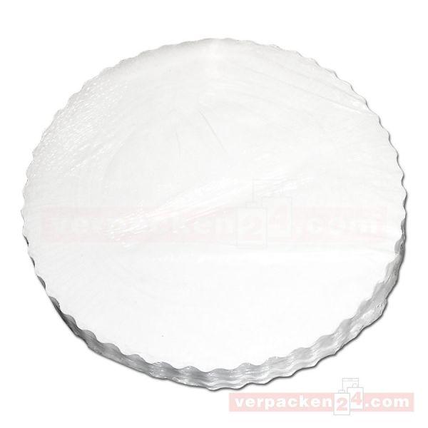 Plattenpapiere weiß, rund