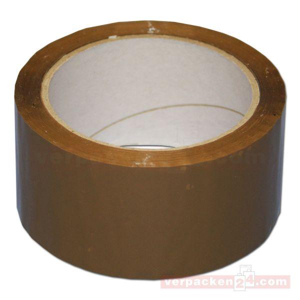 Packband PP, braun - Premium - Rolle 50 mm / 66 m