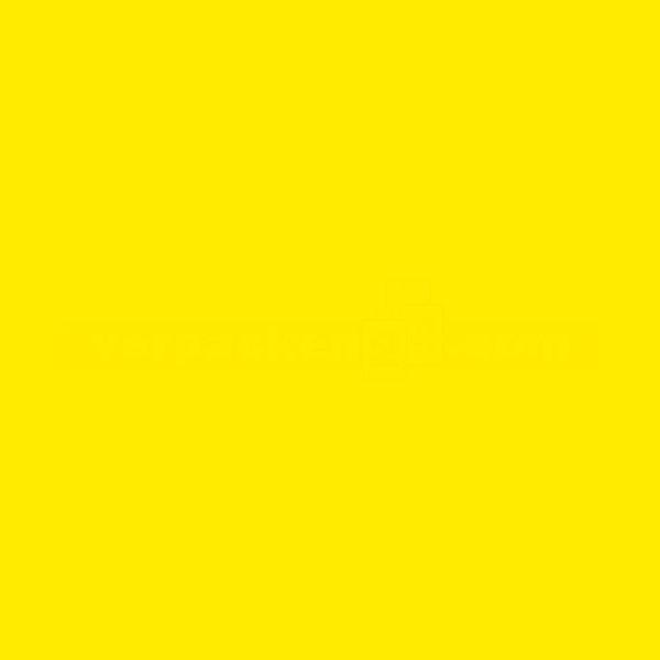 Packseiden, farbig, 26 Bögen - 1/2 Bogen - goldgelb (14)