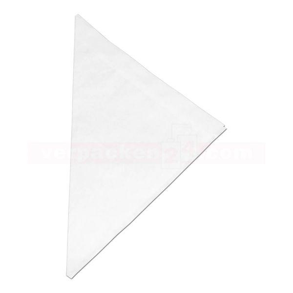 Pergament-Spitztüten, weiß 40 g/m² - 100 g - 170 mm