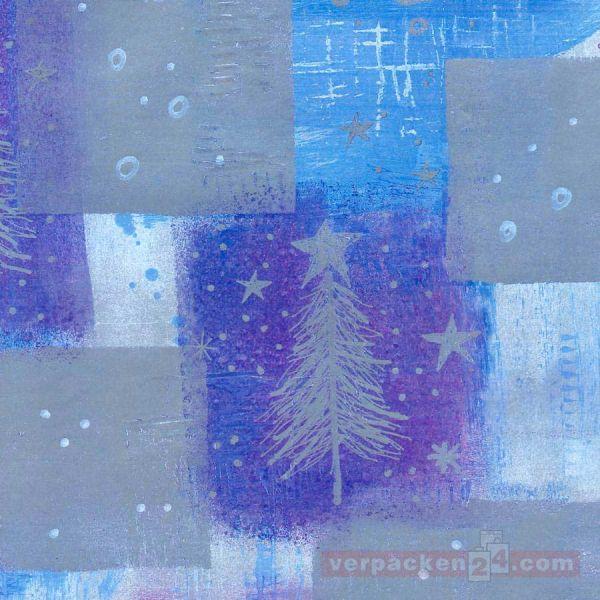 Weihnachts Geschenkpapier W 8203, Rolle 50 cm