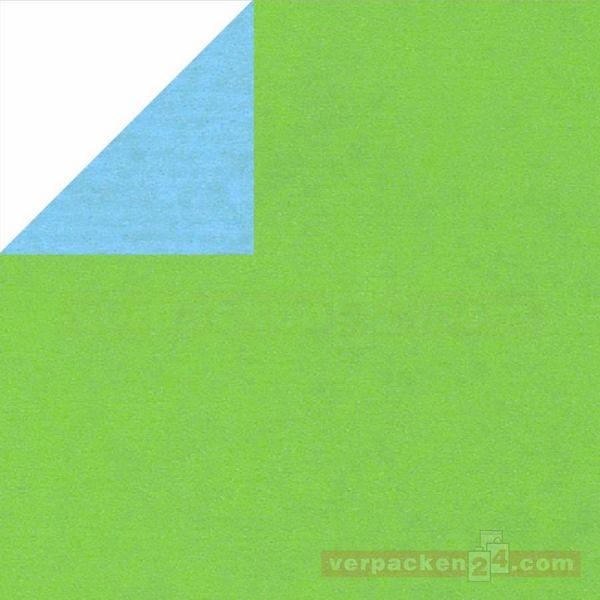 Geschenkpapier, neutral Zo 331644, Rolle 50 cm - hellgrün/blau