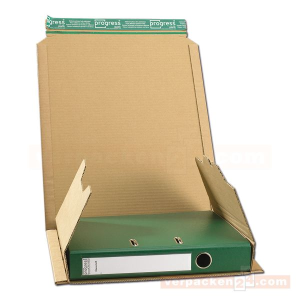 Ordnerpack, Ordner-Versandverpackung Wellpappe - 320x290x-80 mm