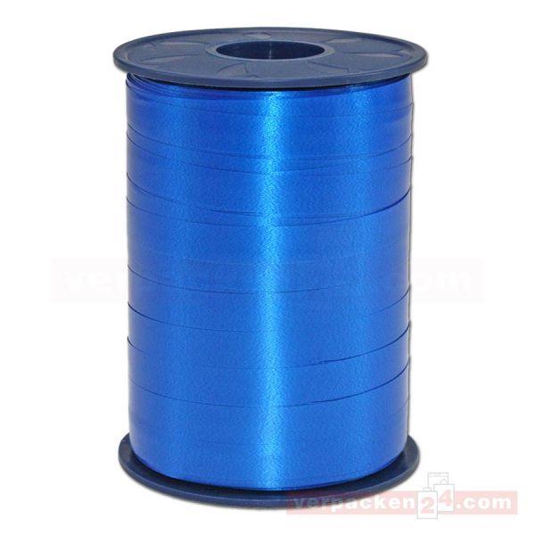 Glanzband auf Rolle 250 mtr., 9 mm - blau (614)